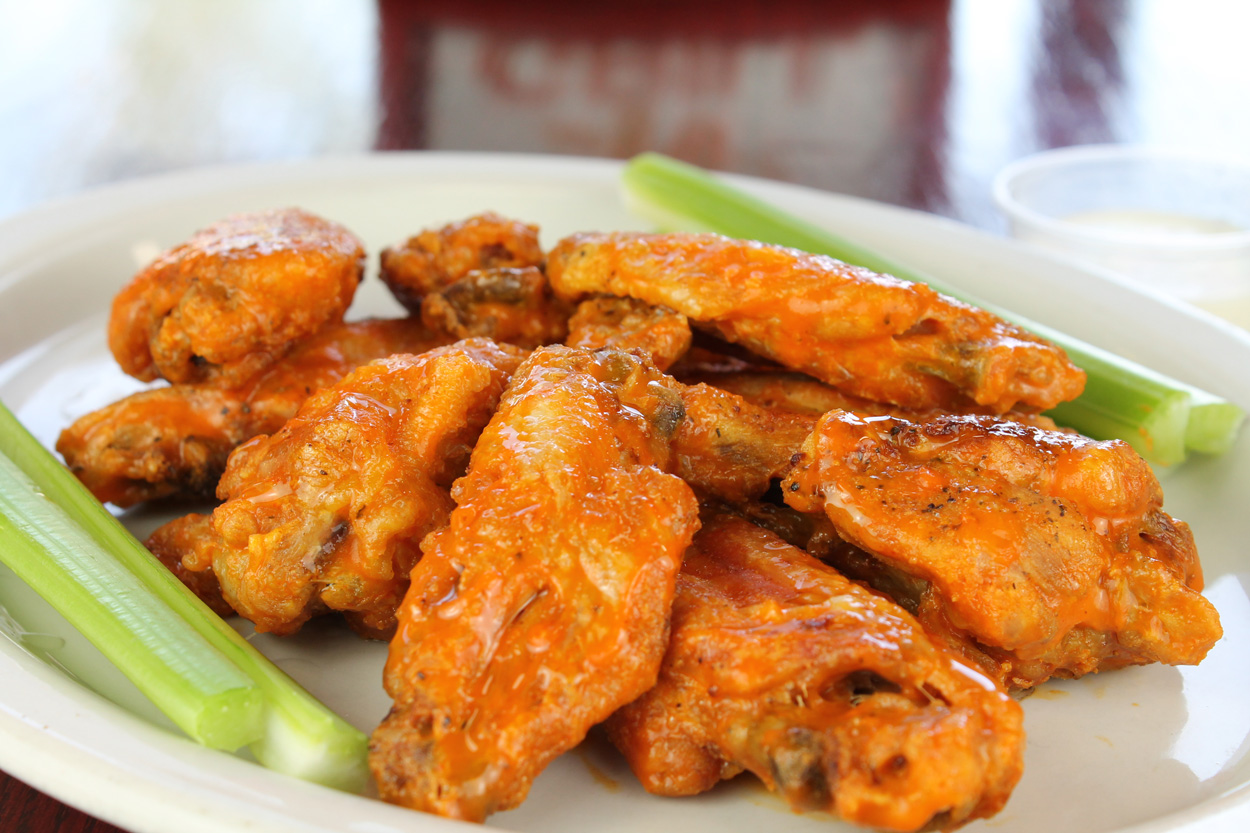 Party anyone? Order our Buffalo Wings Party Pan!